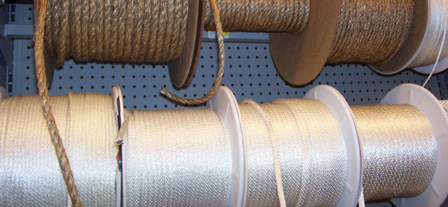 Where can you find rope without having to go to - you know - that <em>OTHER</em> hardware store