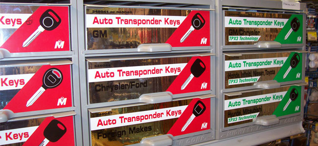New! Auto transponder keys