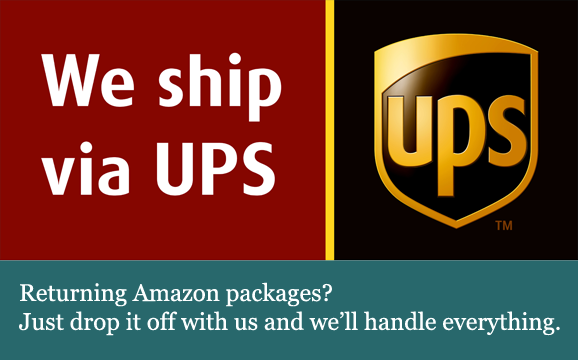 UPS Shipping to return Amazon packages